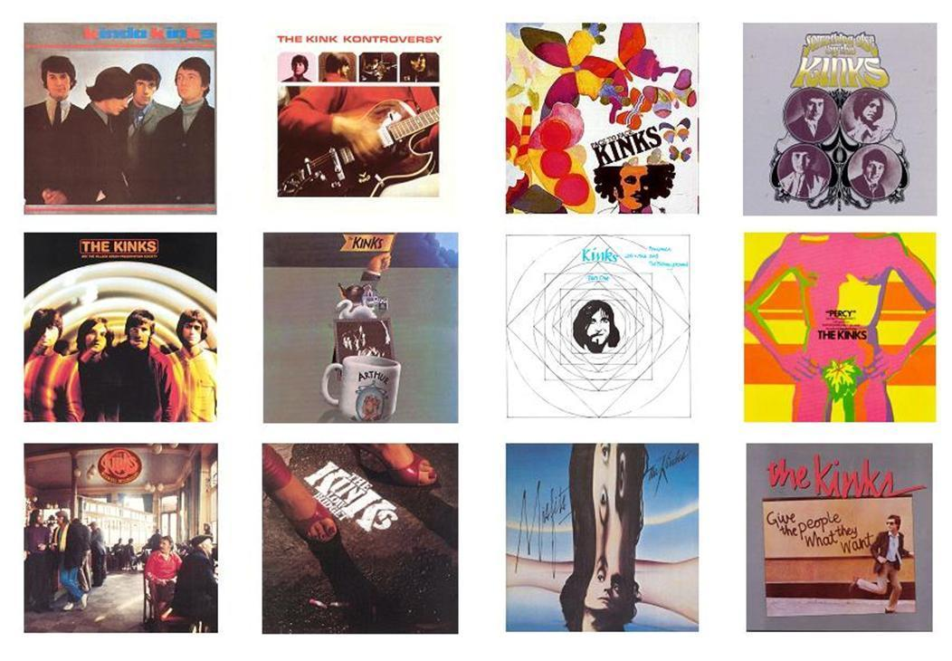 The Kinks en 10 versions